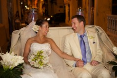 Mark and Carolina's Wedding in cartagena, colombia