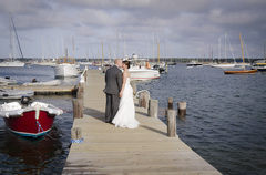 Oak Bluffs Wedding In October in Poppenessett, MA, USA