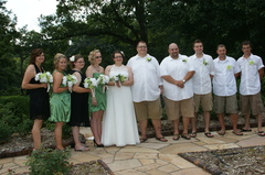 Our Wedding in Johnston, IA, USA