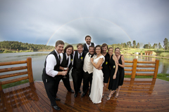 Our Wedding in Brookvale, CO, USA