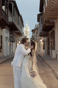 natalia and Steven's Wedding in Cartagena, Bolivar, Colombia