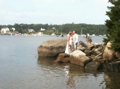 Tenants Harbor Wedding In August