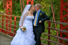 Our Wedding in hot springs, nc