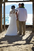 Wedding Ceremony in Meeks Bay, CA, USA