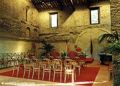 Norvald og Katrine's bryllupskart in Fiumicino, Lazio, It