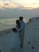 Jennifer and Mark's Wedding in Inlet Beach, FL, USA