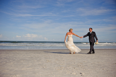 Kathie & Ray's Wedding in Saint Augustine Beach, FL, USA