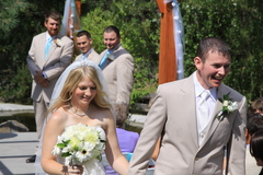 Annalise and Dixy's Wedding in Tahoma, California, CA 96145, USA