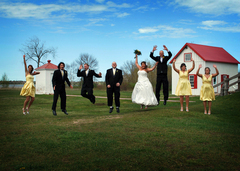 Chad and Whitney's Wedding in East Tawas, Michigan, USA