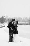 Buffalo Wedding In February in Orchard Park, NY, USA