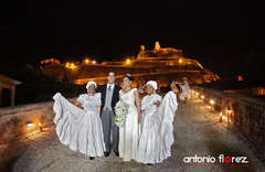 Jenny and Eduardo's Wedding in Cartagena, Bolivar, Colombia