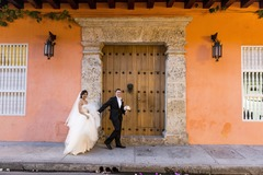 Lily and James 's Wedding in Cartagena, Bolivar, Colombia