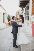 Our Wedding in Cartagena, Bolivar, Colombia