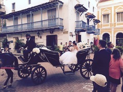 Diana  and Kabir 's Wedding in Cartagena, Bolivar, Colombia