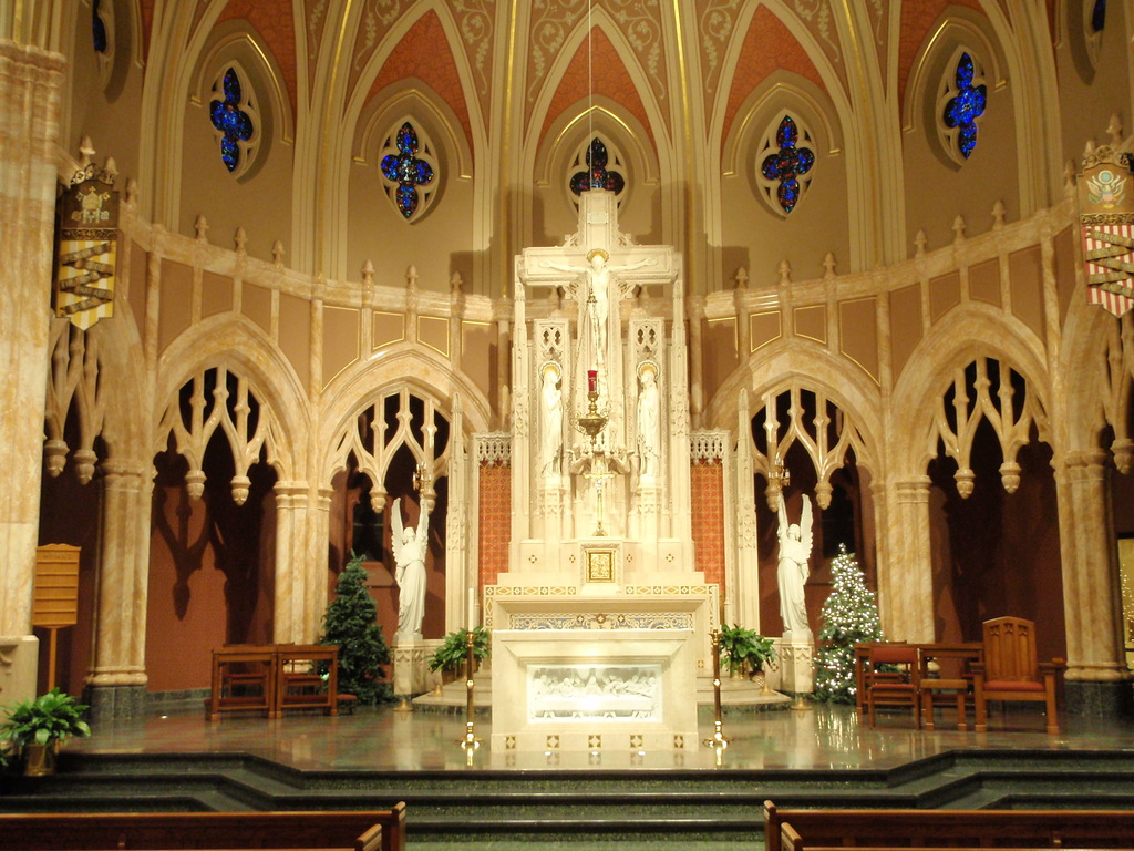 Blessed Sacrament Church - Ceremony Sites, Attractions/Entertainment - 1725 S Walnut St, Springfield, IL, 62704