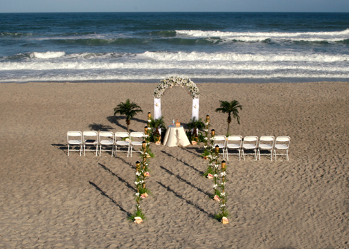 The Beach Wedding Saturday Night