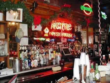 Acme Restaurant On Iberville Street In New Orleans