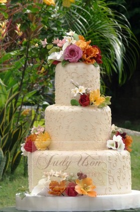 Judy Uson Wedding Cakes Manila