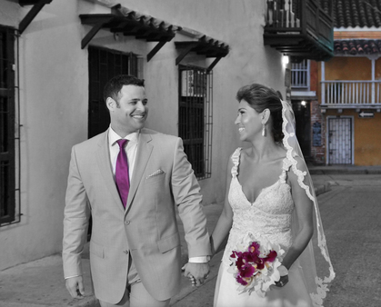 Jessica and Jason's Wedding in Cartagena, Bolivar, Colombia