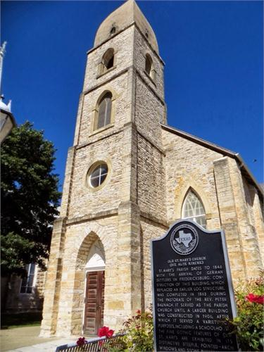 Marienkirche - Ceremony Sites - 307 West San Antonio St, Fredericksburg, TX, 78624