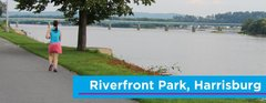 Riverfront Park & Capital Area Greenbelt - Things To Do in the Area - Front St, Harrisburg, PA, 17104