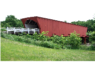 Roseman Covered Bridge - Local Attraction - Winterset, IA, 50273, US