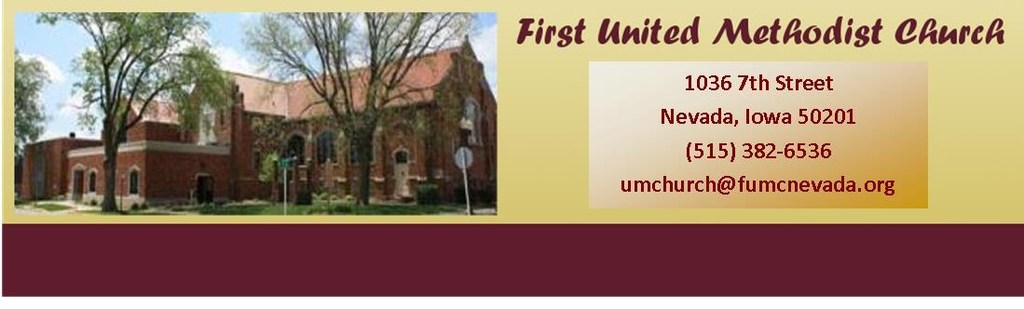 First United Methodist Church - Ceremony Sites - 1036 7th St, Nevada, IA, 50201