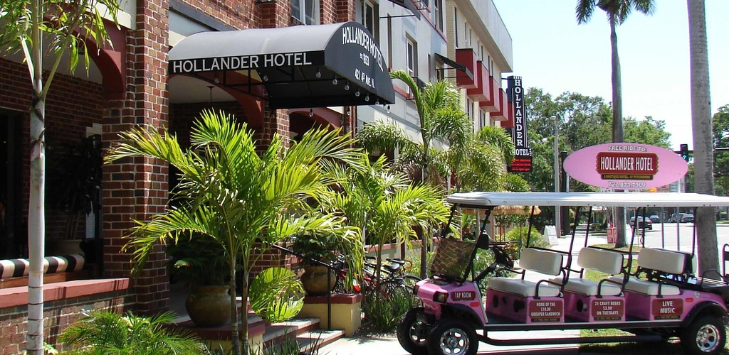 Hollander Hotel - Hotels/Accommodations, Restaurants - 421 4th Ave N, St. Petersburg, FL, 33701, US