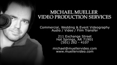 Michael Mueller Video Production Services - Videographers, Photographers - 211 Exchange Street, Hot Springs, Arkansas, 71901, USA