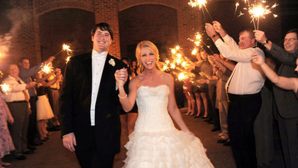 Fireworks wedding exit - Ceremonies - Helping Hand Parties and Weddings