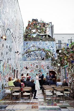 Philadelphia Magic Gardens Wedding Garden Ftempo