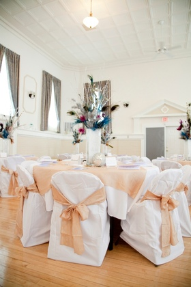 Sashes, table covers, chair covers, vases, floral - Flowers and Decor - Accents Event Decor & Photo Booth Rental