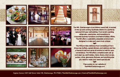 The Mill - Reception Sites, Ceremony & Reception - 1601 Gulf Street, Suite 100, Chattanooga, Tn, 37408, USA