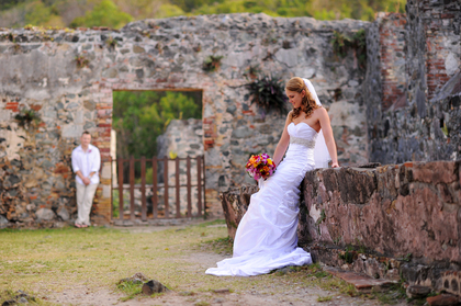 Annaberg Ruins part of the VI National Park - rich in history and amazing photo ops, overlooks the Caribbean Sea as well as historic ruins and sugar mill.  VI National Park permit required  - Ceremonies - Island Style Weddings