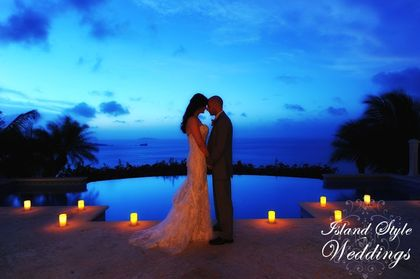 Hawksview Estate Villa wedding on St John USVI - Ceremonies - Island Style Weddings