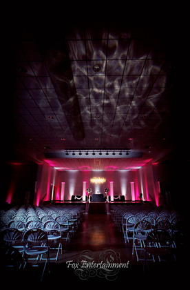 Wedding Uplighting and Monogram at Lima Ohio Reception Hall -  - FOX ENTERTAINMENT-DJs in Ohio