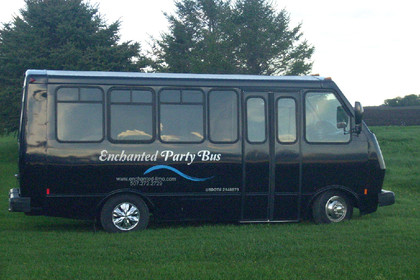 Enchanted Party Bus - Limos/Shuttles, Rentals - Austin, Owatonna, Rochester, MN