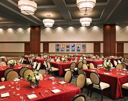 Sheraton Fairplex Hotel & Conference Center - Hotels/Accommodations, Ceremony & Reception, Reception Sites, Caterers - 601 West McKinley Avenue, Pomona, CA, 91768, USA