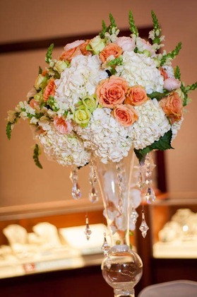 Hydragenas, roses ans garden roses  - Flowers and Decor - LB Events