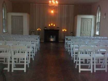 Ceremony packages for up to 80 guests and reception packages for up to 50 guests.  - Ceremonies - The Ruston Chapel