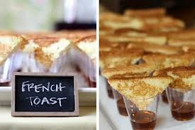 Mini French Toast w/Syrup - YUM! -  - Creative Catering of Virginia
