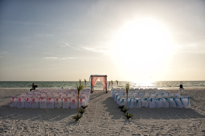 Florida Destination Wedding on Pass-a-Grille (St Pete Beach), FL