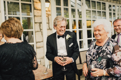 Candid photograph of wedding guest by victoria bc based photographer taylor roades  http://www.taylorroades.com - Wedding Party Attire - Taylor Roades Photography