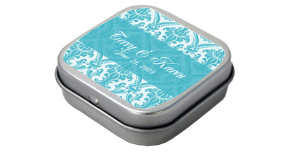 -  - CUSTOM MINT TINS FAVORS