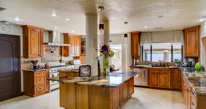 Gourmet Chef's Kitchen -  - Petro Mansion