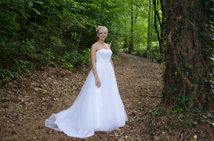 Lots and lots of great wedding picture sites from trails to bridges and floral settings! - Wedding Dresses - gardens of sunshine hollow
