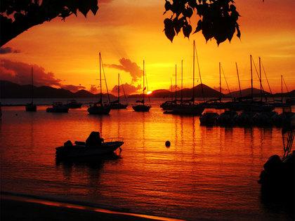 St. John, USVI has the most spectacular sunsets on the island. - Ceremonies - Ceremonies of St John