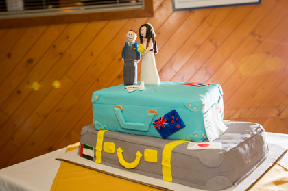 Cakes and Desserts - Amanda and Brian's Wedding in Canmore, AB, Canada