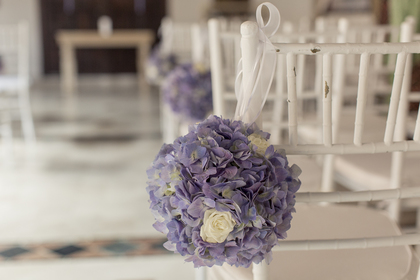 Flowers and Decor - Susana and Chris's Wedding in Cartagena, Bolivar, Colombia