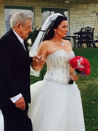 Our Wedding in Salado, TX,USA